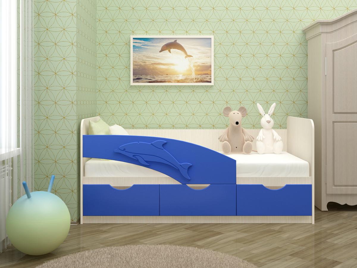 Кровать-дельфин